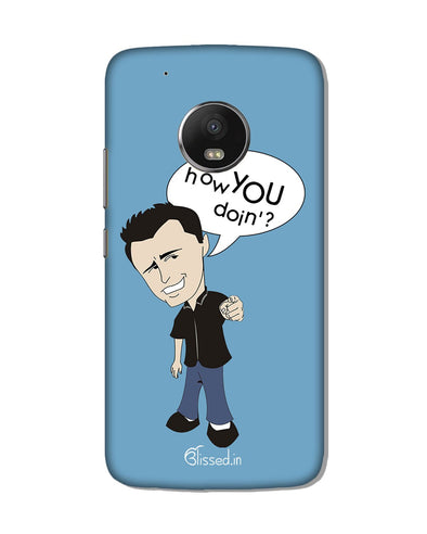 How you doing | Motorola Moto G5s Plus Phone Case