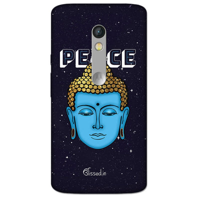 Peace of buddha | MOTO X STYLE Phone Case