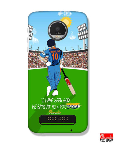 Tribute to Sachin | Motorola Moto Z Play Phone Case