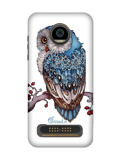 Blue Owl | MOTO Z2 PLAY Phone Case