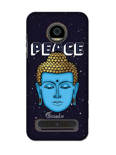 Peace of buddha | MOTO Z2 PLAY Phone Case