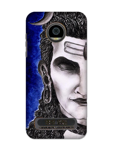 Meditating Shiva | MOTO Z2 PLAY Phone case