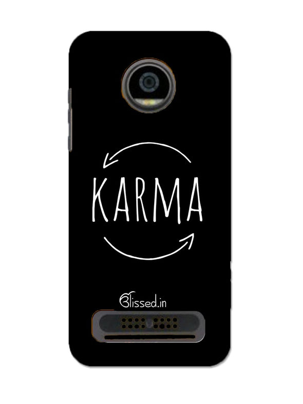 karma | MOTO Z2 PLAY Phone Case