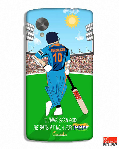 Tribute to Sachin | Nexus 5 Phone Case