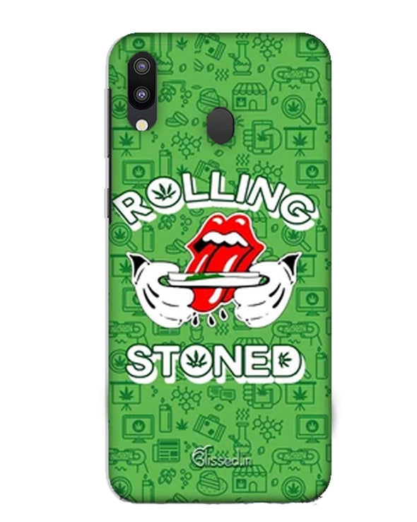 Rolling Stoned | Samsung Galaxy M10 Phone Case