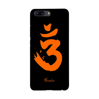 Saffron AUM the un-struck sound | One Plus 5 Phone Case