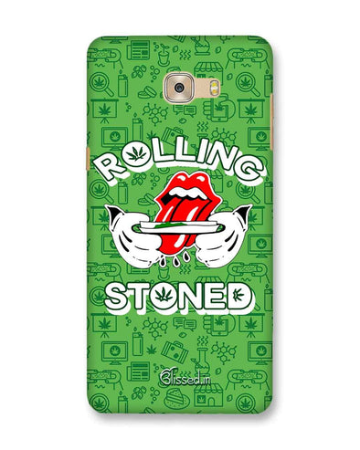 Rolling Stoned | Samsung Galaxy C7 Pro Phone Case