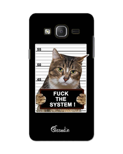 F*CK THE SYSTEM  | SAMSUNG ON 5 PRO Phone Case