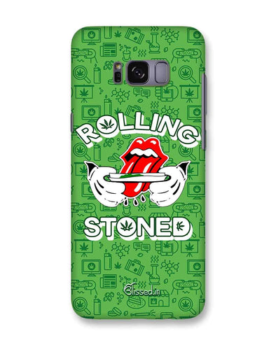 Rolling Stoned | Samsung Galaxy S8  Phone Case
