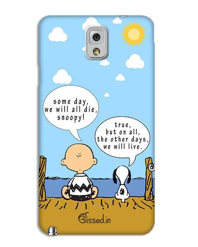 We will live | SAMSUNG NOTE 3 Phone Case