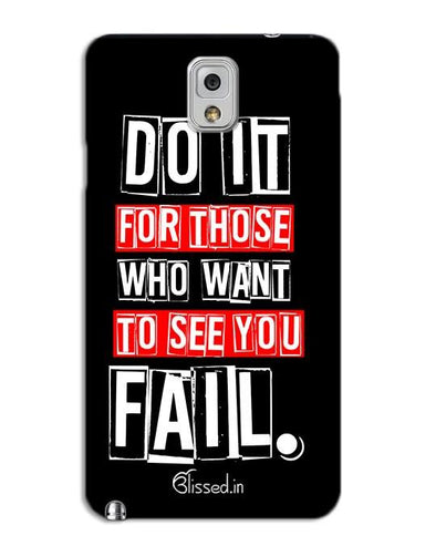 Do It For Those | SAMSUNG NOTE 3 Phone Case