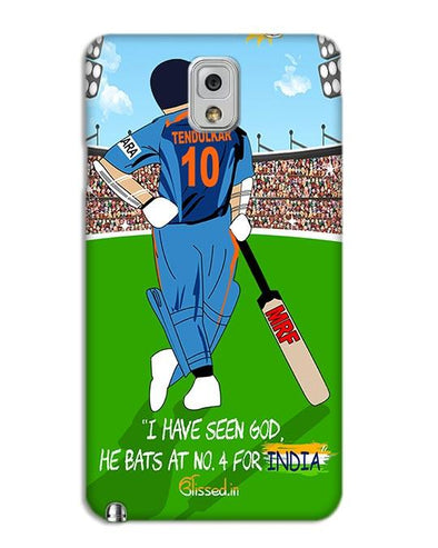 Tribute to Sachin | SAMSUNG NOTE 3 Phone Case