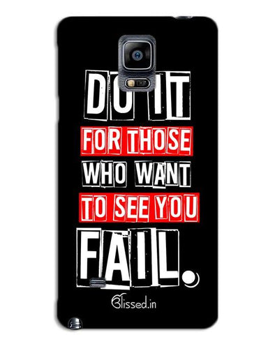 Do It For Those | SAMSUNG NOTE 4 Phone Case