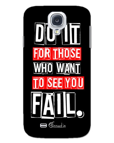 Do It For Those | SAMSUNG S4 Phone Case