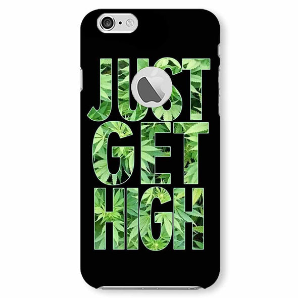 High | iphone 6 logo cut Phone Case