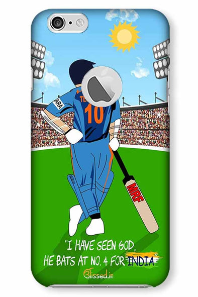 Tribute to Sachin | iphone 6 logo cut Phone Case