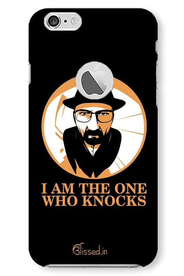 The One Who Knocks | iphone 6 logo cut Phone Case