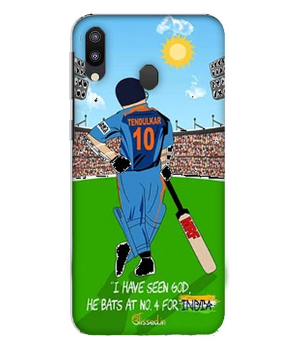 Tribute to Sachin |Samsung Galaxy M10 Phone Case