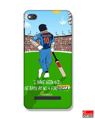 Tribute to Sachin | Xiaomi Redmi 4A Phone Case