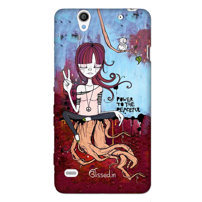 Power to the peaceful | SONY XPERIA C4 Phone Case
