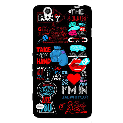 Shape of You | SONY XPERIA C4 Phone Case