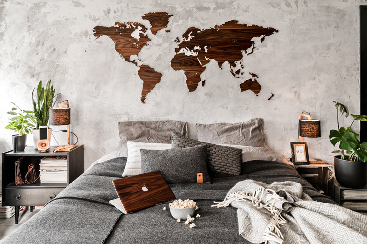 Wood accessories for your bedroom