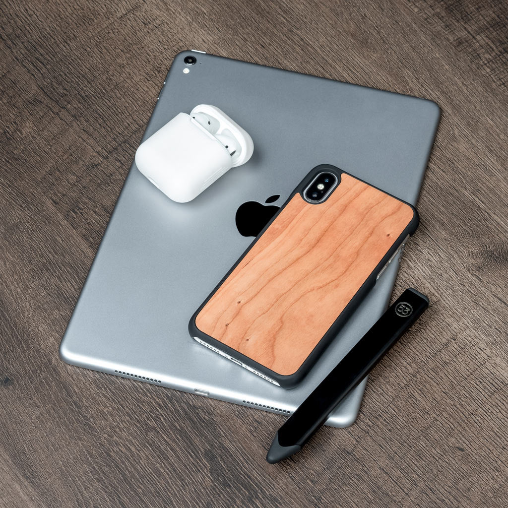 wooden iphone X case www.oakywood.shop
