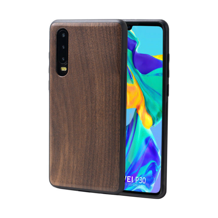 wooden Huawei cover