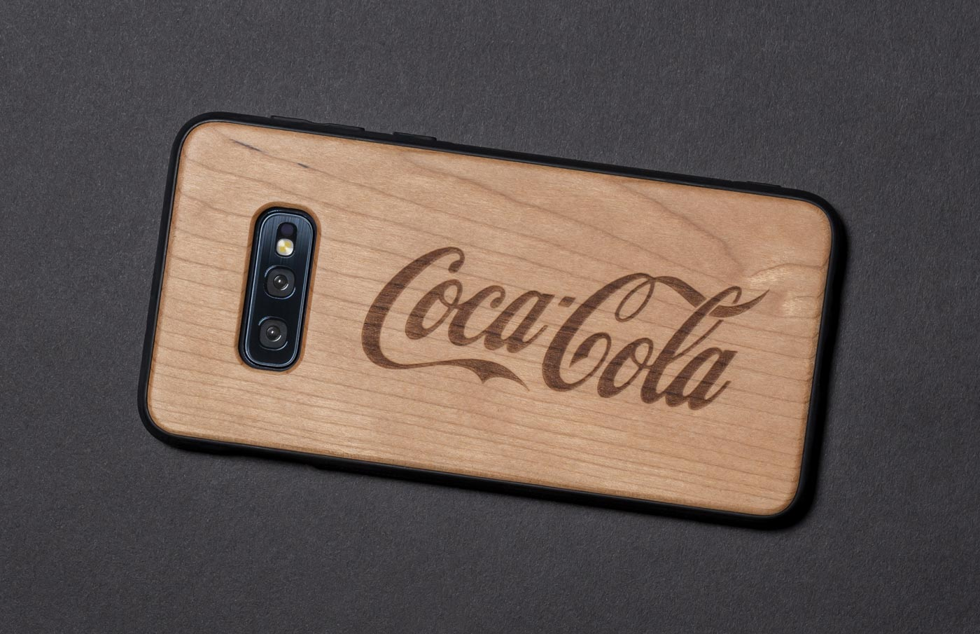 wooden phone case corporate gift