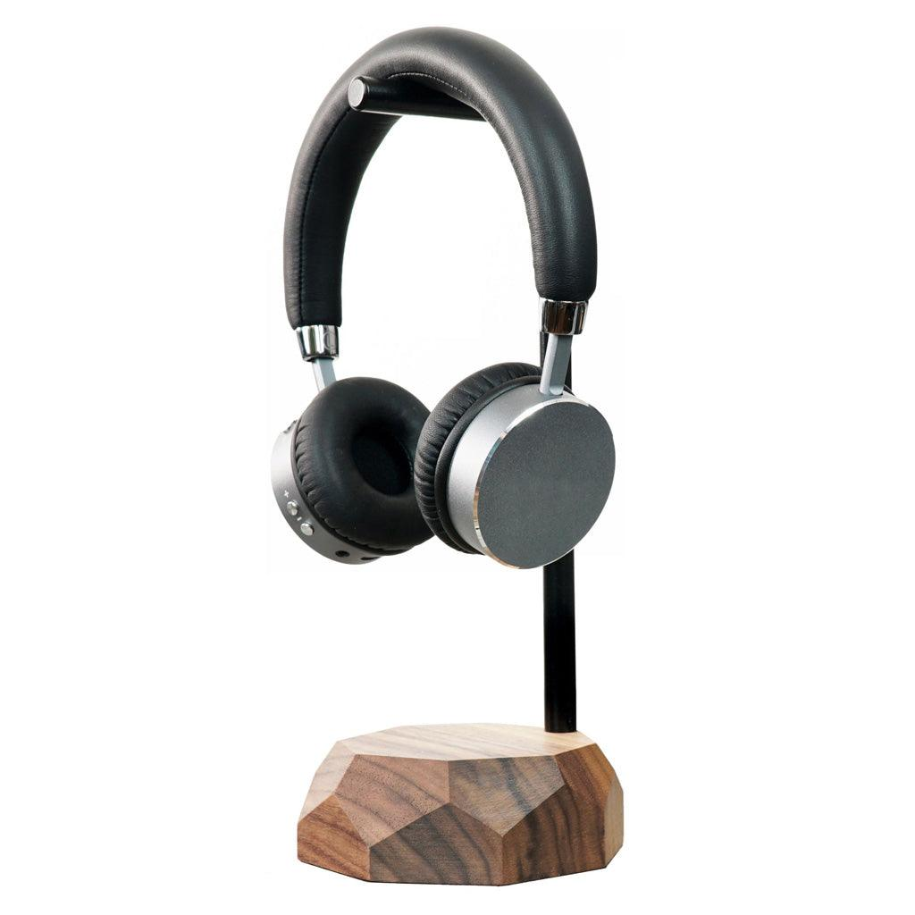 wooden modern headphones stand Wooden headphones stand