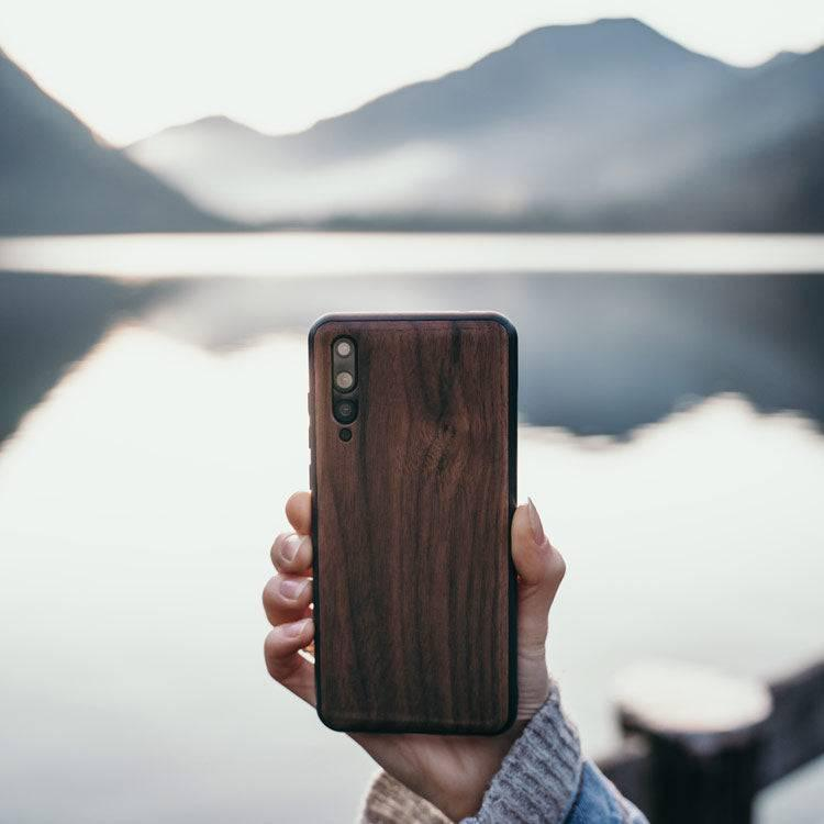 Wooden Huawei Case - Bumper (Walnut)