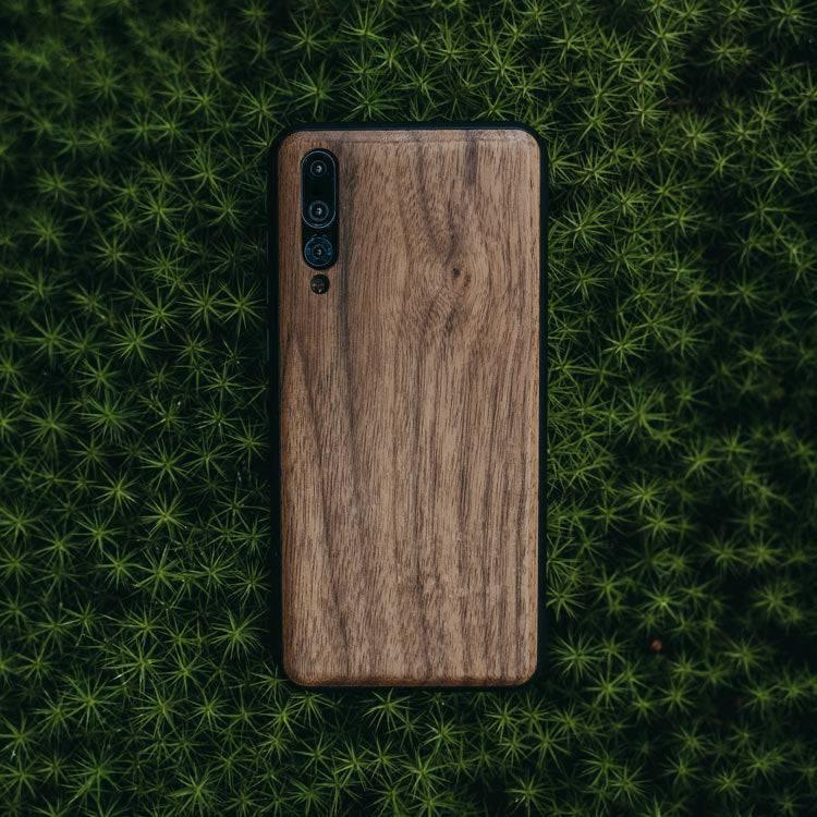 Huawei P20 Pro wooden cover