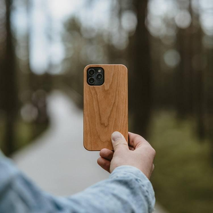 Wood iPhone 12 Case