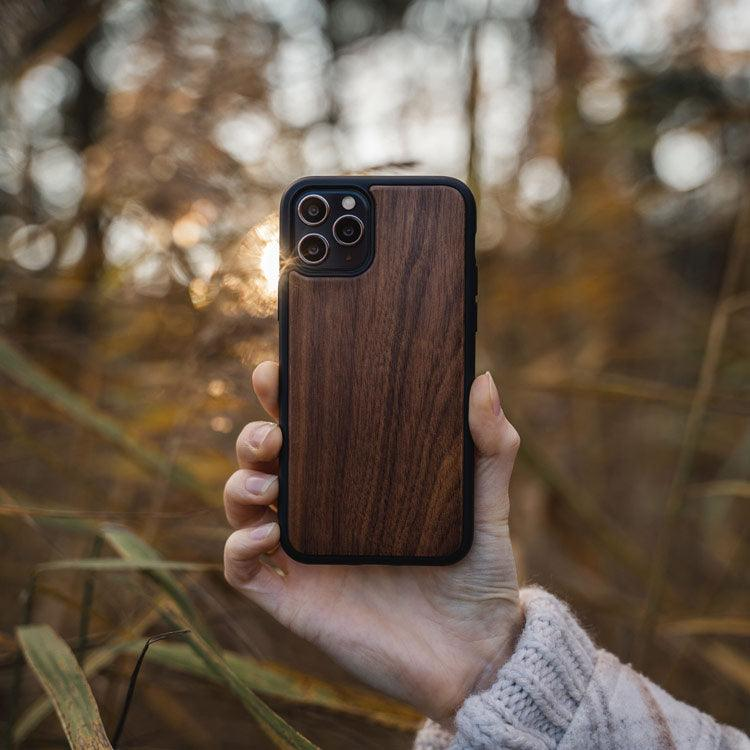 Wooden iPhone 12 Pro max Protective Case cover