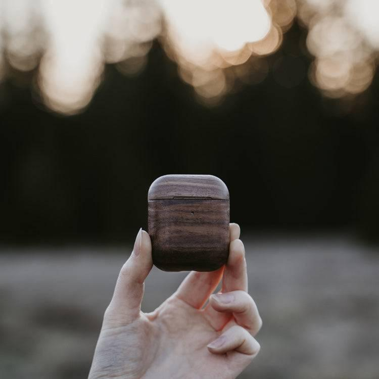 Wooden AirPods Case natural