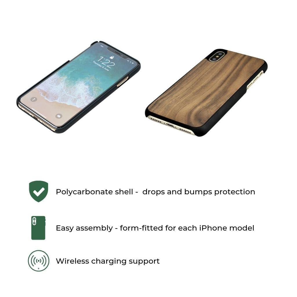 Handcrafted Wood iPhone cover