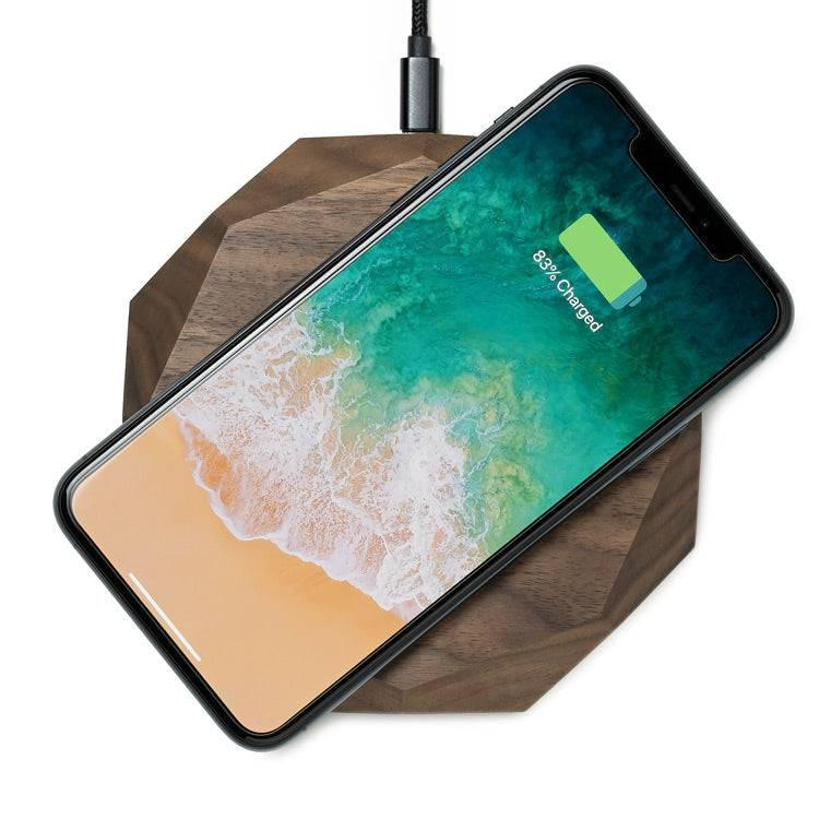 wireless charger wood