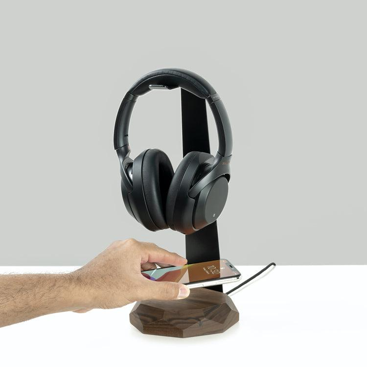 Oakywood Headphone stand wireless charger