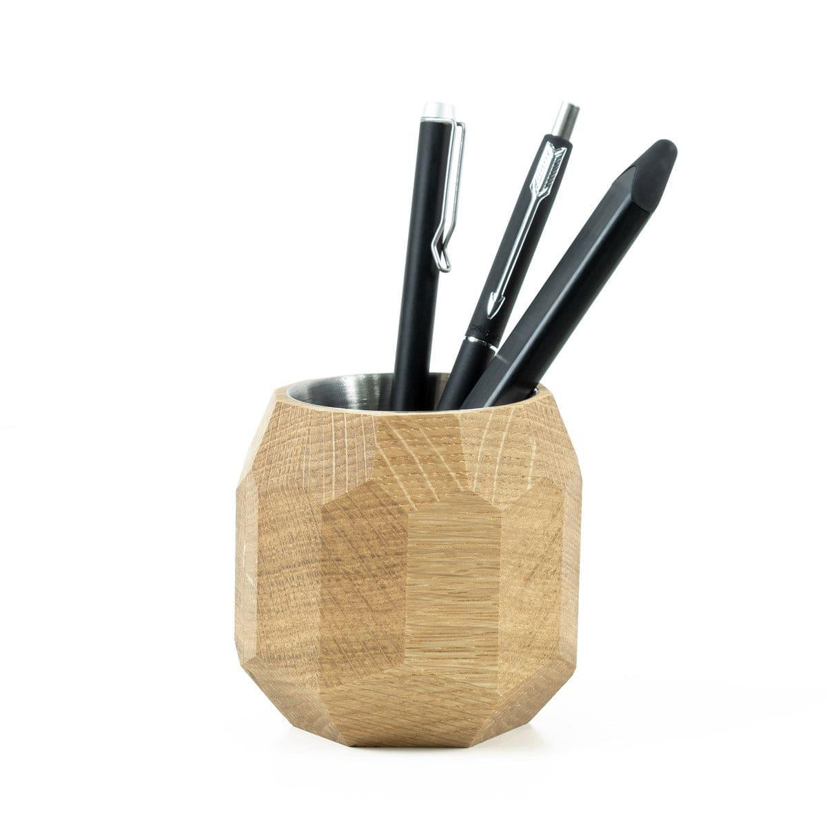Geometric pen pot