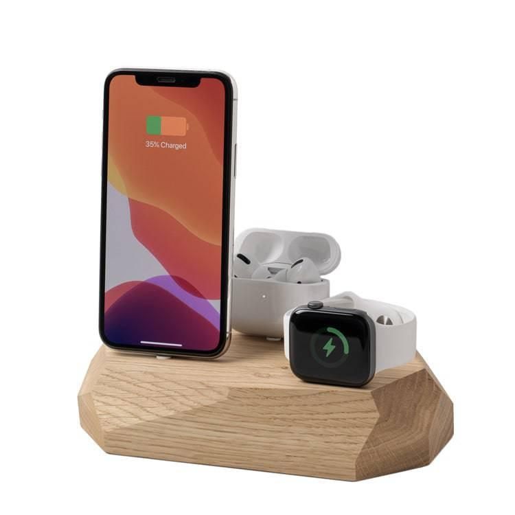Apple docking station |--variant--| Oak