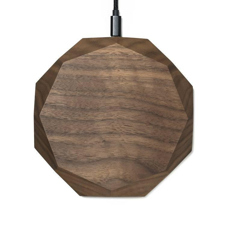 qi induction charger |--variant--|  Walnut
