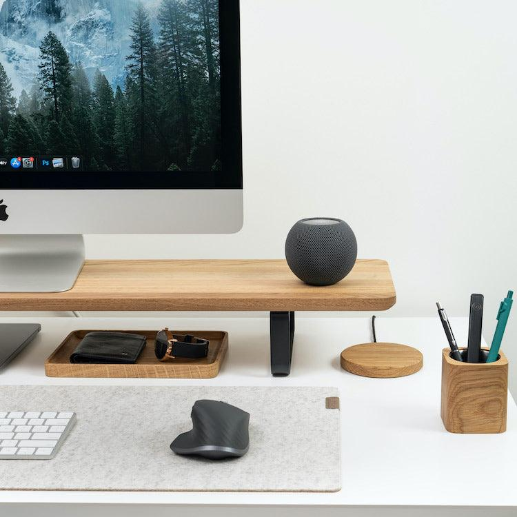 Wooden Desk Shelf