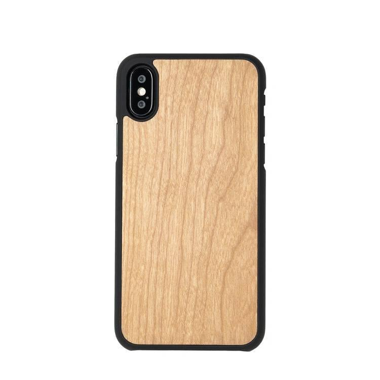 Wooden iPhone X case