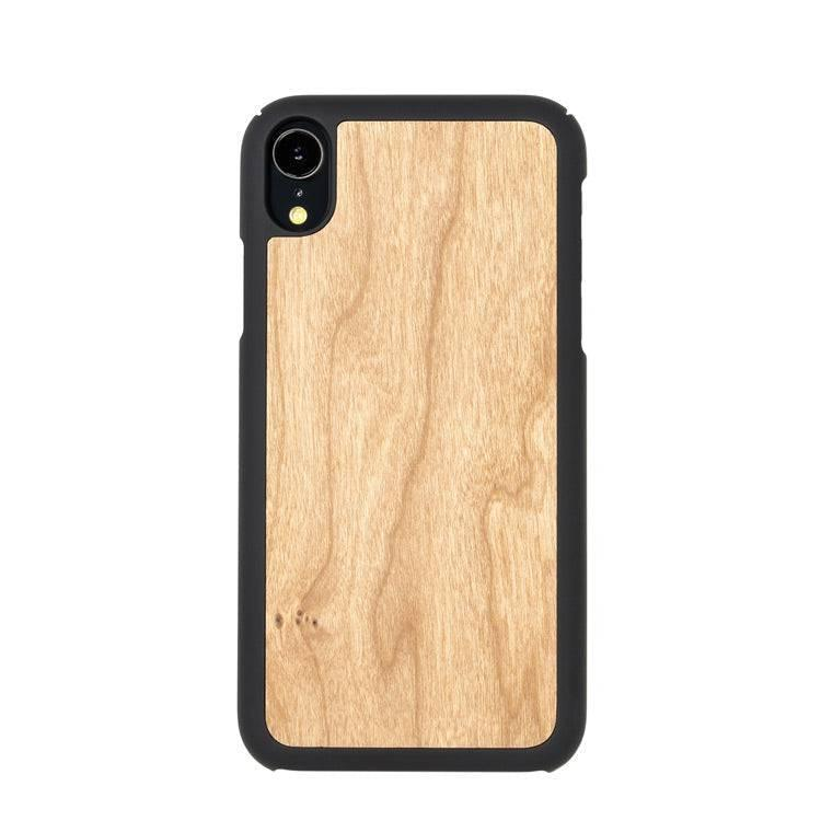 Wooden iPhone Xr case