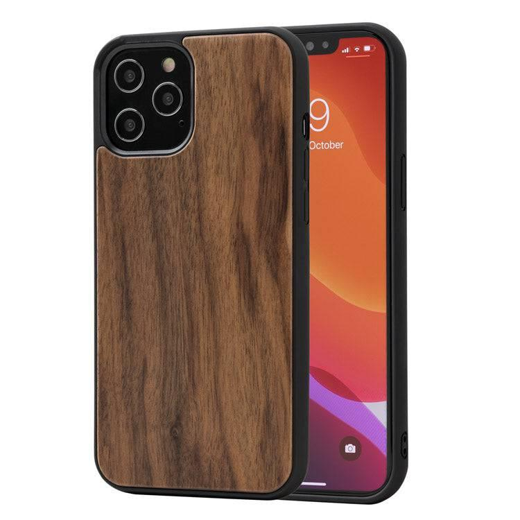 Wooden iPhone 11 Case - Bumper (Walnut)