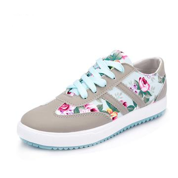 Women's Casual Fashion Floral Print Shoes