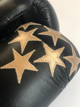 Black Star Leather Boxing Gloves