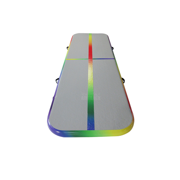 New Arrival Rainbow 3*0.9M  WholesaleAirtrack Airfloor