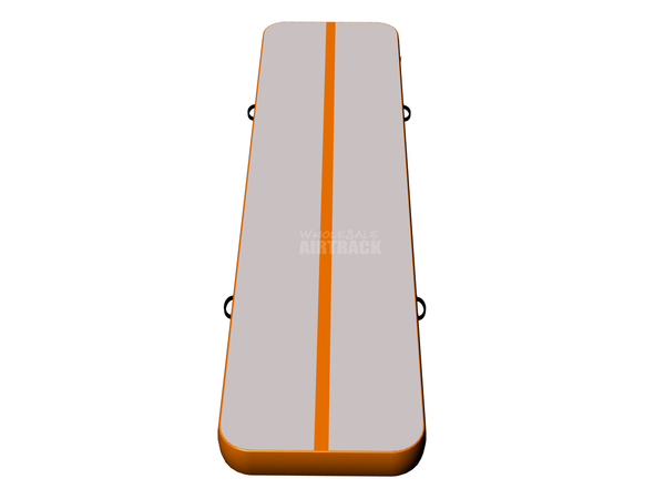 Excellent quality gray surface orange side gymnastics mats for kids