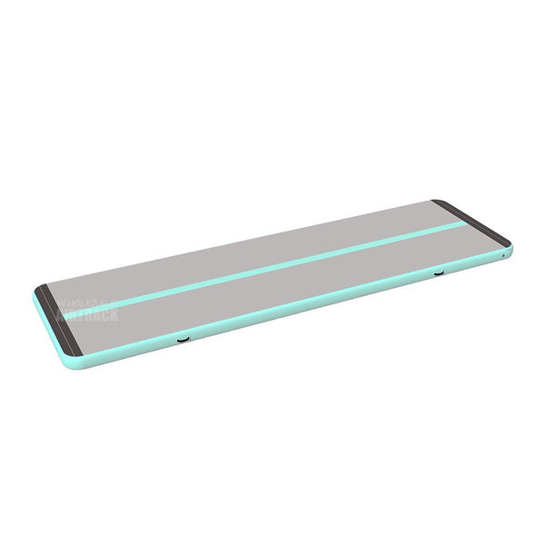 Top Selling Mint Green Gray Airtrack Gymnastics Mat